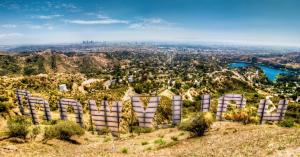 How I shot the panorama of the Hollywood Sign